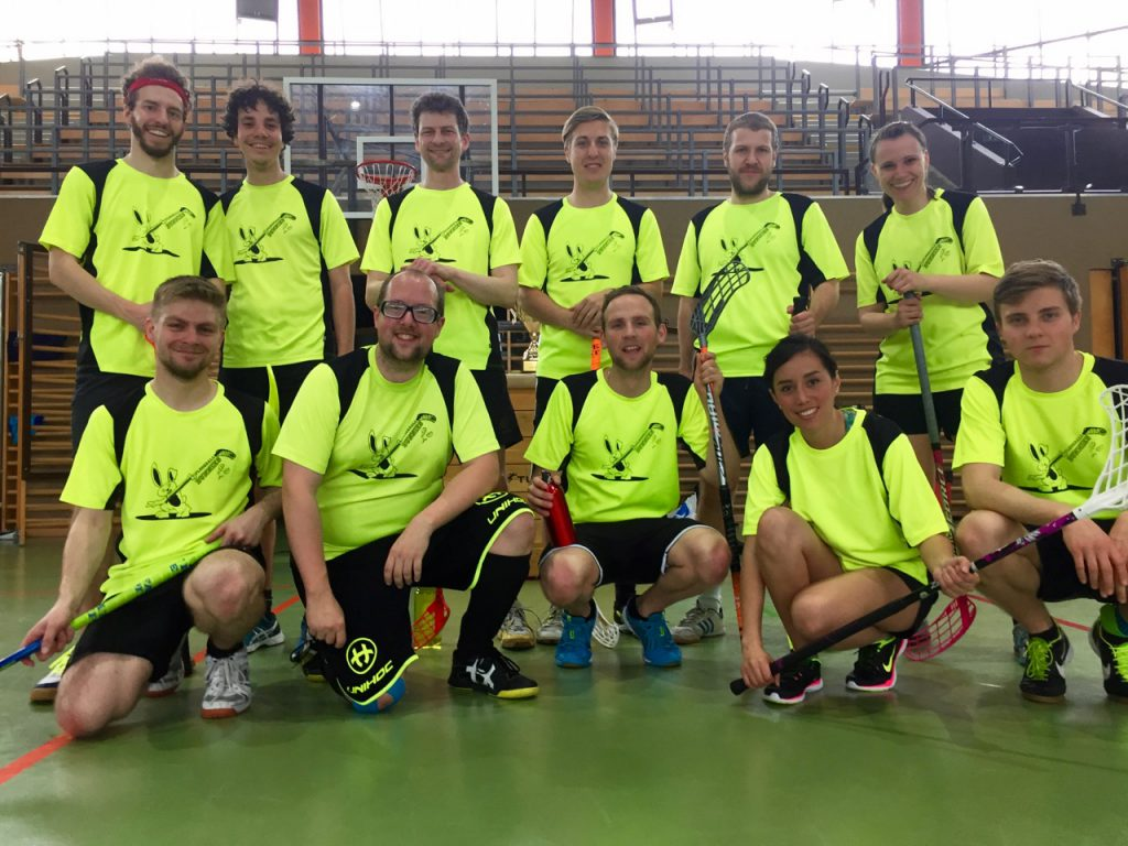 Floorballbunnies Team Spaß Turnier Sportverein