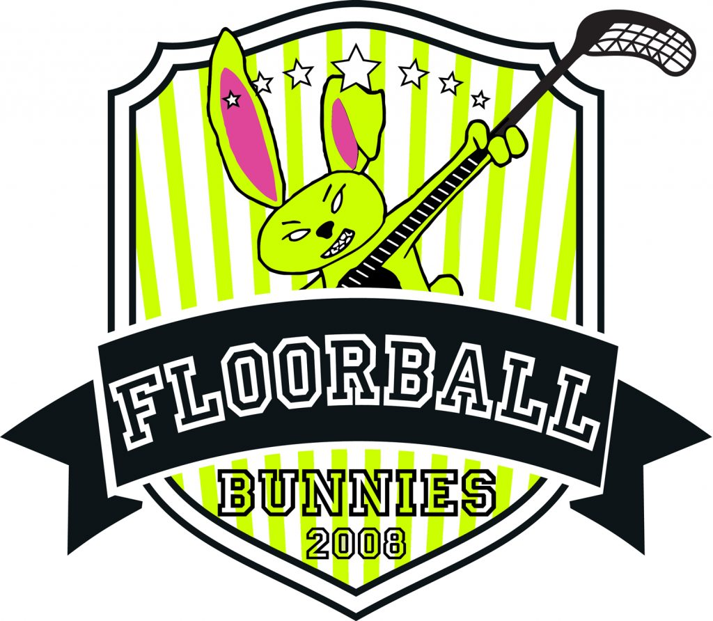 Team Logo Innebandy Floorballbunnies