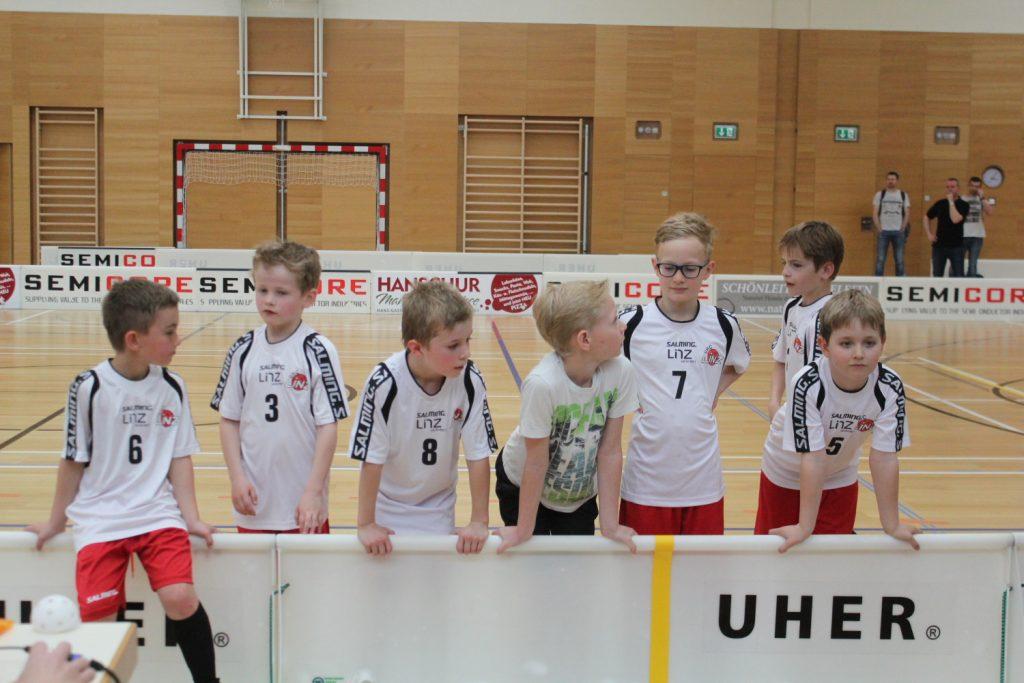 Kinder Floorball Team Sportverein